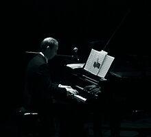 Jazz Pianist  by Joanne  Bradley