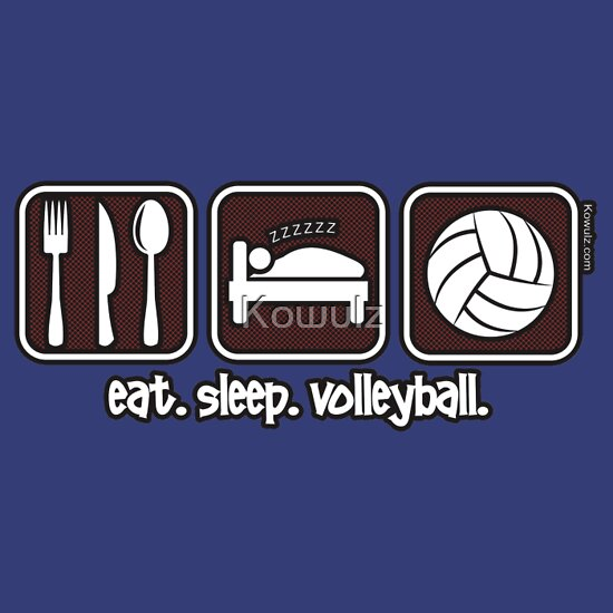 quoteat sleep volleyball repeatquot tshirts amp hoodies by