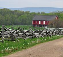 Farm at Gettysburg by EmmaLeigh