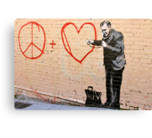 Banksy - Doctor Love - San Francisco, CA 2010 Canvas Print