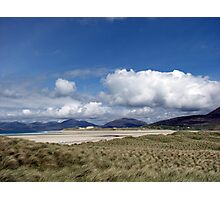 A Windy Day on the Isle of Harris Photographic Print