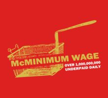 Funny Shirt - Mc Minimum Wage by MrFunnyShirt