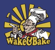 Funny Shirt - Wake and Bake by MrFunnyShirt