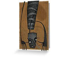 HANDSDOWN 2 - 'Snakeskin Sketchbook' series Greeting Card