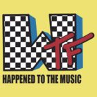 WTF Funny Music Shirt by 785Tees
