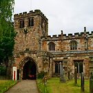 St Lawrences Church, Appleby, Cumbria. by Lou Wilson