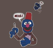Doctor Blue (Sesame Street / Doctor Who) by James Hance