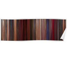 Moviebarcode: Fear and Loathing in Las Vegas (1998) Poster