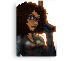 African American Baroness Canvas Print