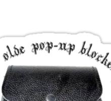 Sporran - Ye Olde Pop-Up Blocker Sticker