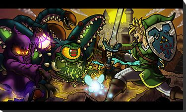 Legend of Zelda by illumistrations