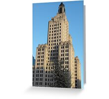 Bank of America Building Greeting Card