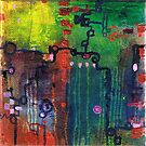 Punctuated Silences, oil on canvas by Regina Valluzzi