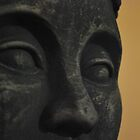 Stone Stare of Buddha by Nearusearu