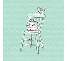 bird on a chair knows what's up! #2 Photographic Print