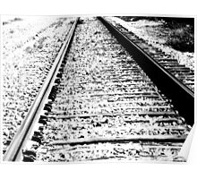 Something about the Railroad Tracks Poster