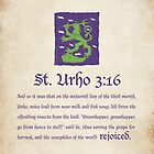 St. Urho 3:16 by LTDesignStudio