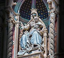 Virgin Mary & Child, Santa Maria Del Fiore Cathedral-Florence, Italy by John Taylor