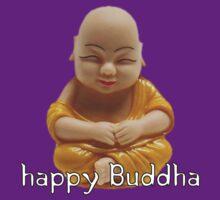 Happy Buddha by stixcreatur