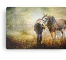 Remembering Old Friends Canvas Print
