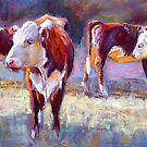 Hereford Study by Lynda Robinson