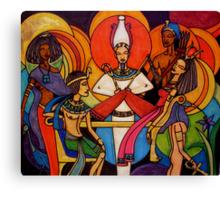Gods and Goddesses: Osiris Canvas Print