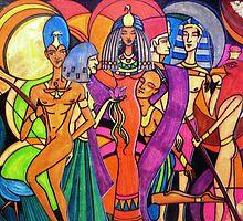Gods and Goddesses: Isis by WrathofRa