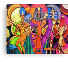 Gods and Goddesses: Isis Canvas Print