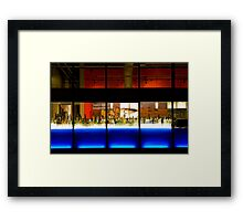 Before Business Time. Framed Print