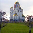 Russian orthodox church by Eduard Isakov