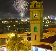 Bundaberg Post Office Clock Tower by Paul  Donaldson
