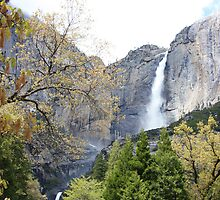 Yosemite Falls by Jem Wright