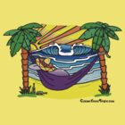 Puerto Escondido Digital Painting by colourfreestyle