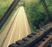 Im on a bridge! by aeophoto