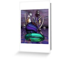 Magical worlds Greeting Card