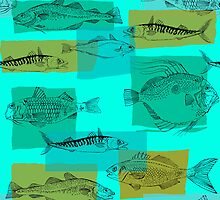 North Atlantic Fish by Wendy Howarth