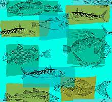 North Atlantic Fish by Wendy Howarth