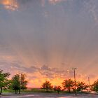 Sunray Glory After Storm by marshmaven