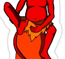 The Red Imp Sticker