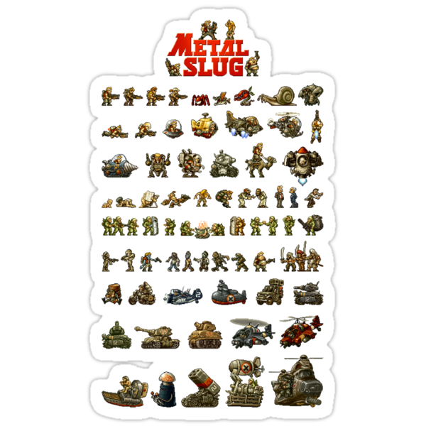 Metal Slug - Design 01 by Greg Little