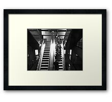 Twilight worlds Framed Print