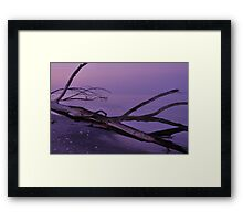 Before Sunrise at Stump Pass, As Is Framed Print