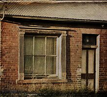 Waiting at the Window by Sue Wickham