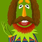 A portrait of Jim Henson by MrWhaite