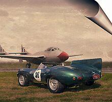 Vampire & the Jag by Steven  Agius