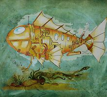 Fish Sub by Peter Maudsley