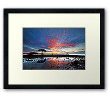 Tidal Twilight - Cleveland Point Qld Framed Print