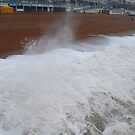 Wet & Windy in Brighton by Geraldine Miller