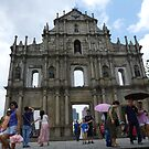 Ruins of St. Paul's Cathedray in Macau by machka