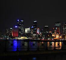 "The Circular Quay of Sydney by Warlito ""Alét"" Mayol"